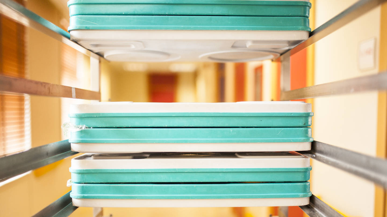 Hospital Food Trays